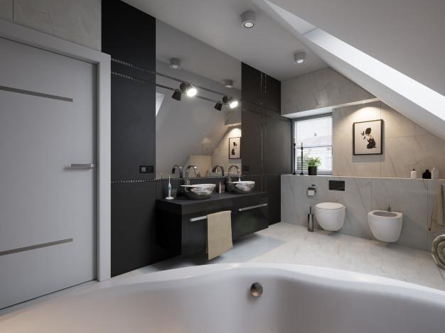 marmor på badeværelset
